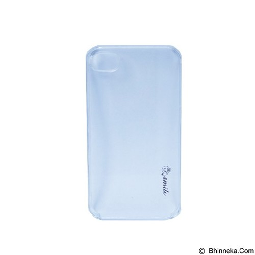 SMILE Hard Case Crystal iPhone 4/4S - Clear (Merchant) - Casing Handphone / Case