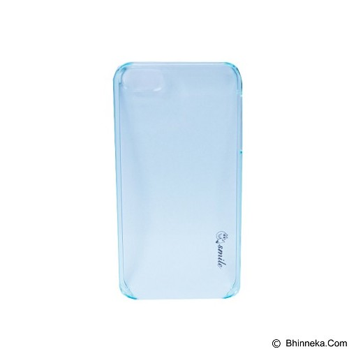 SMILE Hard Case Crystal iPhone 5/5S - Blue Lighting (Merchant) - Casing Handphone / Case