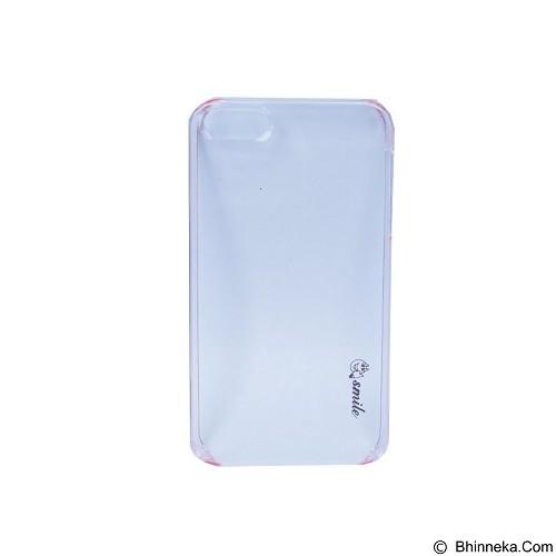 SMILE Hard Case Crystal iPhone 5/5S - Pink Lighting (Merchant) - Casing Handphone / Case