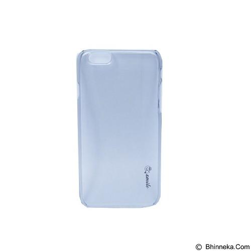 SMILE Hard Case Crystal iPhone 6/6S - Black (Merchant) - Casing Handphone / Case