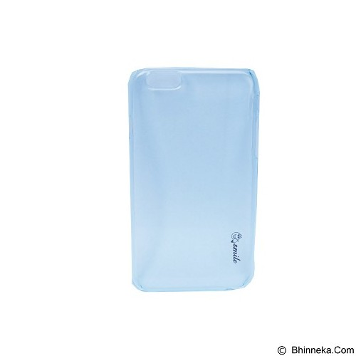 SMILE Hard Case Crystal iPhone 6/6S - Blue Lighting (Merchant) - Casing Handphone / Case