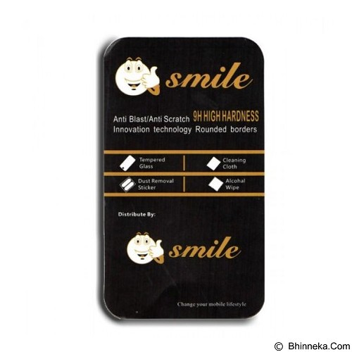 SMILE Tempered Glass Blackberry Q10 - Clear (Merchant) - Screen Protector Handphone