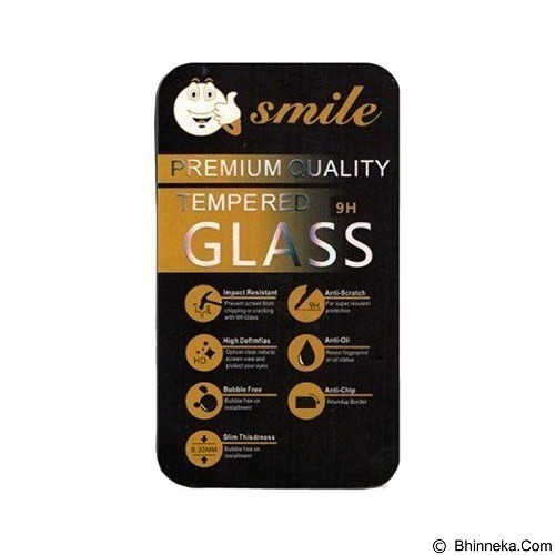 SMILE Tempered Glass Oppo F1 - Clear (Merchant) - Screen Protector Handphone