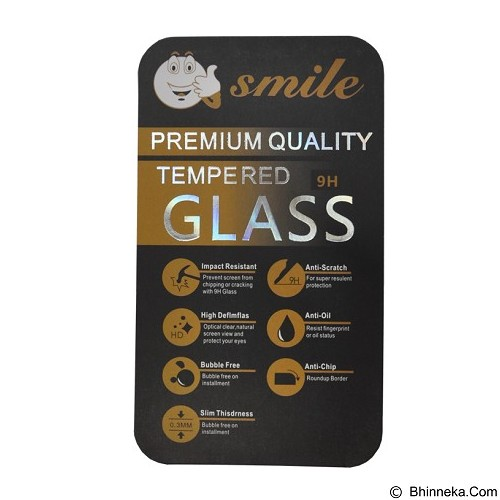 SMILE Tempered Glass Sony Xperia M2 - Clear (Merchant) - Screen Protector Handphone