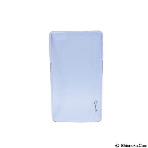 SMILE ard Case Crystal Smartfren Andromax R2 - Pink Light  (Merchant) - Casing Handphone / Case