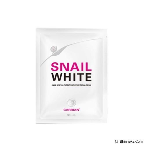 SNAIL WHITE Mask - Masker Wajah