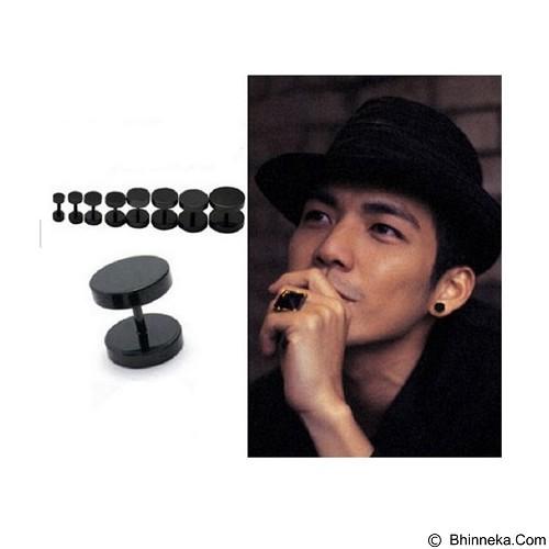 SOHO Anting Barbel 5mm - Black (Merchant) - Anting / Giwang / Earring
