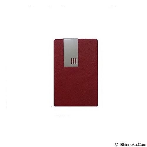 SOHO Card Holder Lapis Kulit BA - Red - Tempat Kartu Nama Pria