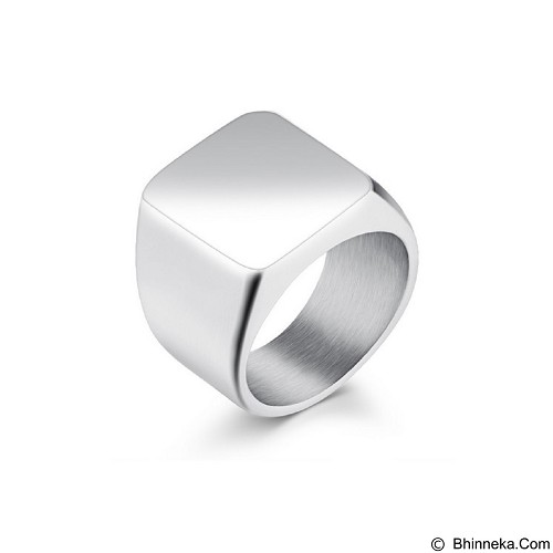 SOHO Cincin Titanium Size 10 - Silver (Merchant) - Cincin