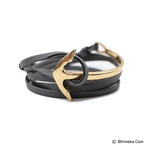 SOHO Curved Anchor - Grey Gold (Merchant) - Gelang / Bracelet