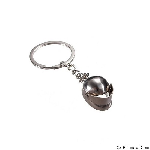 SOHO Gantungan Kunci Model Helmet - Chrome (Merchant) - Gantungan Kunci