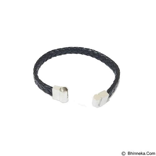 SOHO Gelang Kulit [FMA 3061] - Black (Merchant) - Gelang / Bracelet