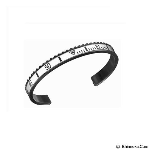 SOHO Gelang Pria Speedometer Stainless Steel - White (Merchant) - Gelang / Bracelet