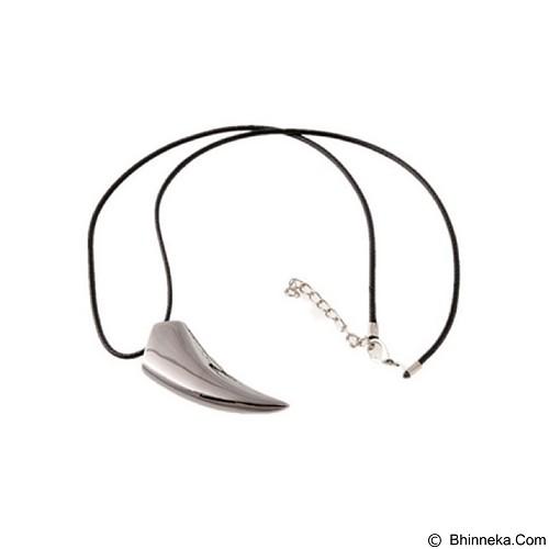 SOHO Kalung Taring Stainless - Silver Gray (Merchant) - Kalung Pria