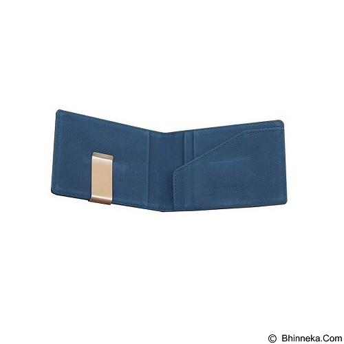 SOHO Money Clip Card Holder - Blue - Dompet Pria