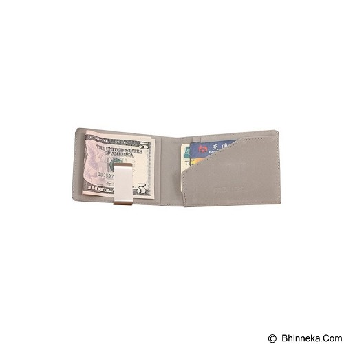 SOHO Money Clip Card Holder - Silver - Dompet Pria