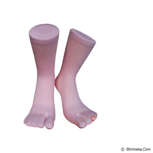 SOKA Basic Soka Jempol Pdk - Pink Muda - Kaos Kaki Casual Wanita