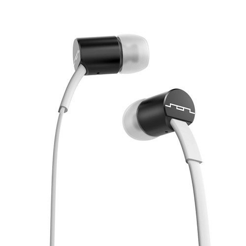 SOL REPUBLIC Jax MFI - White & Black - Earphone Ear Monitor / Iem