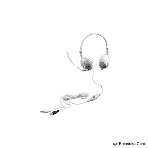SONICGEAR BS 200 - White - Headset Pc / Voip / Live Chat