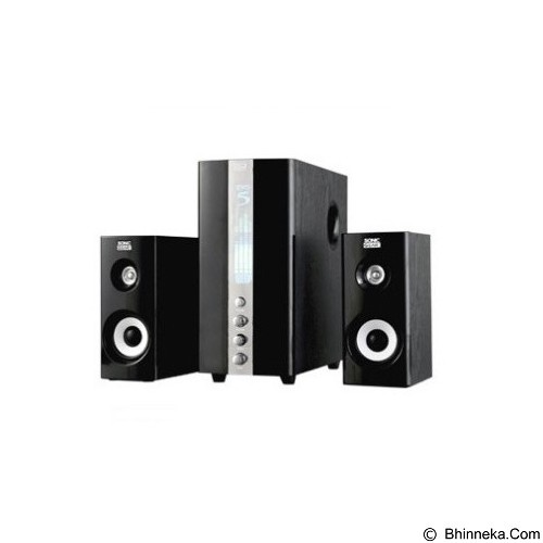 SONICGEAR EVO 5 Pro - Black (Merchant) - Speaker Computer Performance 2.1