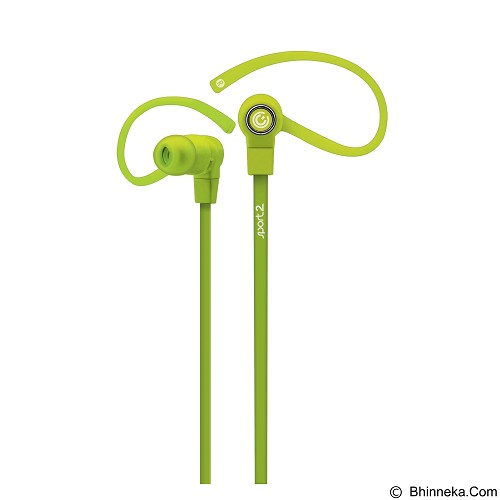 SONICGEAR Earpump Sport 2 - Green - Earphone Ear Monitor / Iem