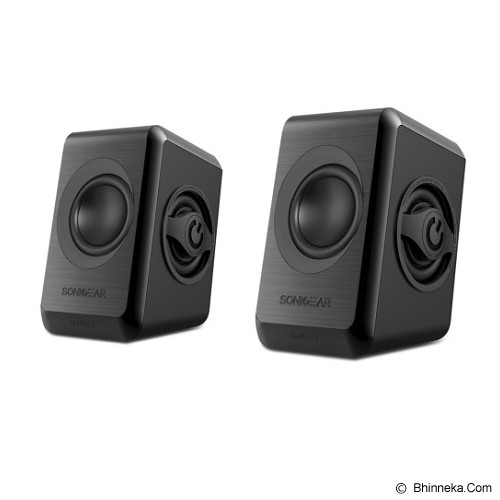 SONICGEAR Quatro 2 - Black - Speaker Computer Basic 2.1