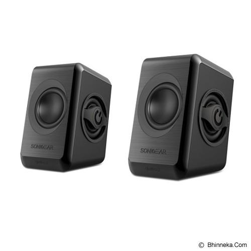 SONICGEAR Quatro 2 - Black - Speaker Computer Basic 2.0