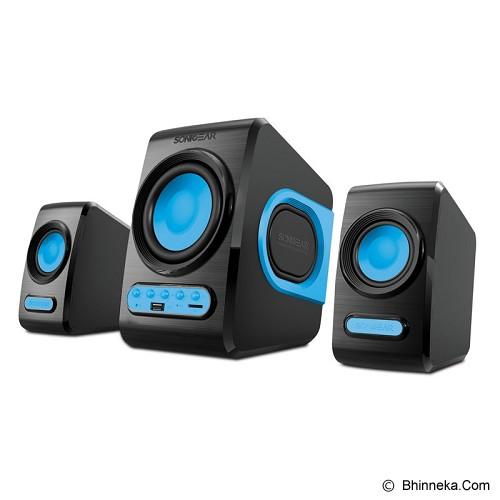 SONICGEAR Quatro V - Blue - Speaker Computer Basic 2.1