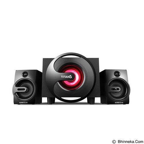 SONICGEAR Titan 5 - Black (Merchant) - Speaker Computer Performance 2.1