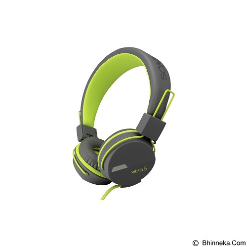 SONICGEAR Vibra 5 - Grey Green - Headphone Portable