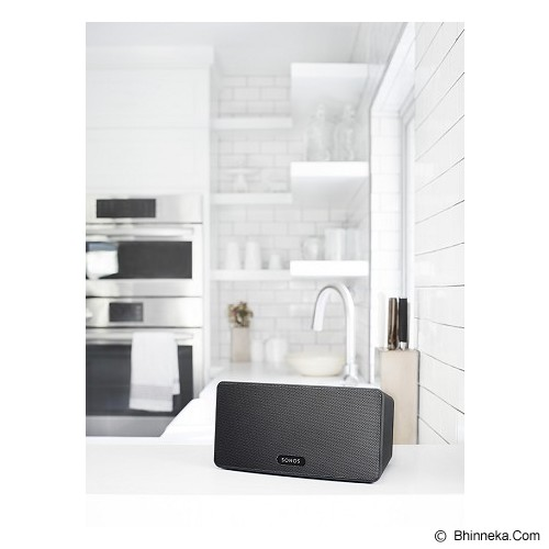 SONOS Play 3 Wireless Speaker - Black - Premium Speaker System