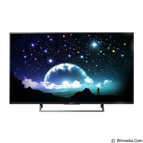 SONY 55 Inch Smart TV UHD [KD-55X8000E] - Televisi / Tv 42 Inch - 55 Inch