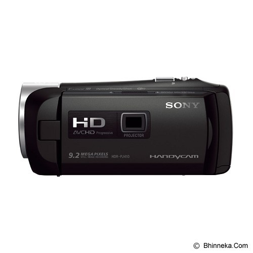 SONY Camcorder with Built-in Projector [HDR-PJ410] (Merchant) - Camcorder / Handycam Flash Memory