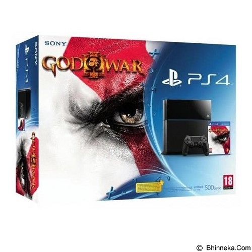 SONY Playstation 4 God of War - Black - Game Console