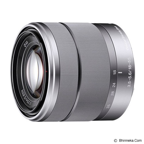 SONY E 18-55mm F3.5-5.6 OSS [SEL1855] - Silver - Camera Mirrorless Lens