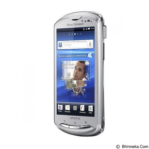 SONY ERICSSON Xperia Pro [MK16i] - Silver (Merchant) - Smart Phone Android