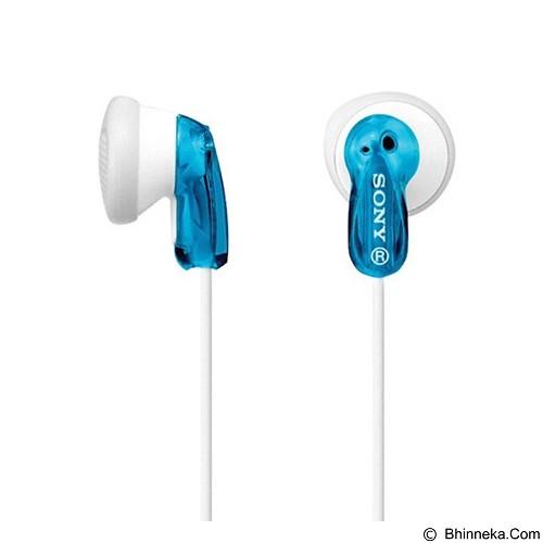 SONY Earphone [MDR-E9LP] - Blue (Merchant) - Earphone Ear Monitor / Iem