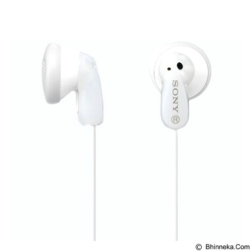 SONY Earphone [MDR-E9LP] - White (Merchant) - Earphone Ear Monitor / Iem