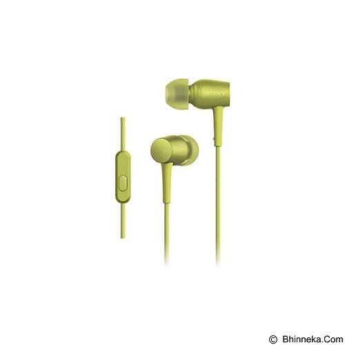 SONY Earphone [MDR-EX750AP] - Lime Yellow - Earphone Ear Monitor / IEM