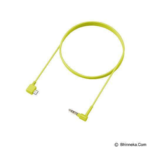 SONY Earphone [MDR-EX750BT] - Yellow - Earphone Ear Monitor / Iem