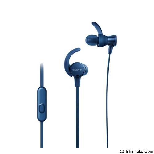 SONY Extra Bass In-ear Headphones [MDR-XB510AS] - Blue - Earphone Ear Monitor / Iem