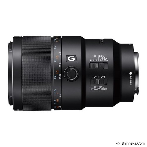 SONY FE 90mm f/2.8 Macro G OSS Lens [SEL90M28G] - Camera Mirrorless Lens