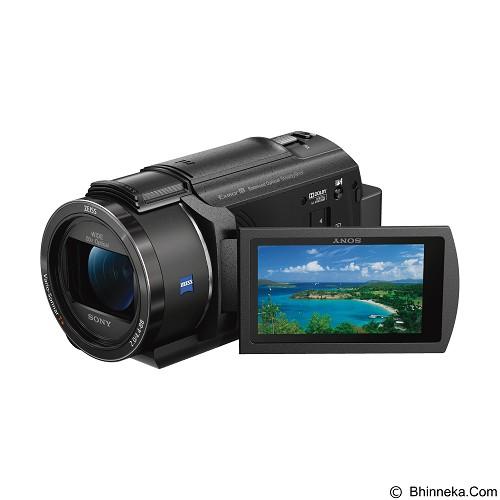SONY Handycam 4K FDR-AX40 - Black - Camcorder / Handycam Flash Memory