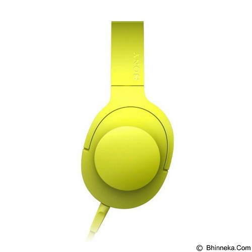 SONY Headphone Ear On [MDR-100AAP] - Lime Yellow - Headphone Portable