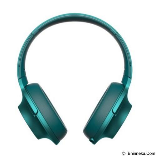 SONY Headphone Ear On [MDR-100AAP] - Viridian Blue - Headphone Portable