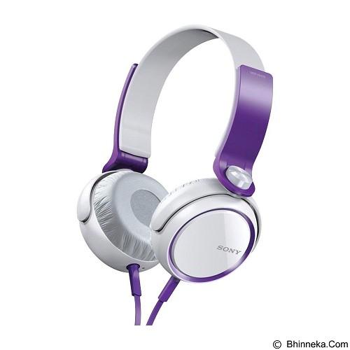 harga SONY Headphone MDR-XB400 - Violet Bhinneka.Com