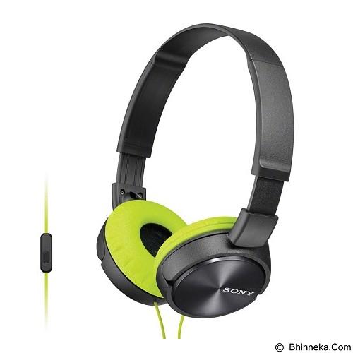SONY Headphone [MDR-ZX310AP] - Grey (Merchant) - Headphone Full Size
