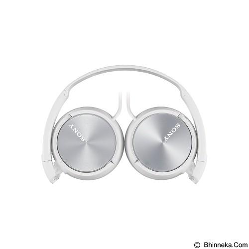 SONY Headphone [MDR-ZX310AP] - White - Headphone Portable