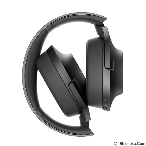 SONY High-Res Bluetooth Headphone [MDR-100ABN] - Charcoal Black (Merchant) - Headphone Portable