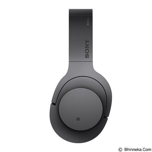 SONY High-Res Bluetooth Headphone [MDR-100ABN] - Charcoal Black (Merchant) - Headphone Portable